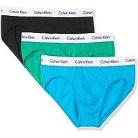 Calvin Klein Men's Cotton Stretch Hip Briefs 3 Pack