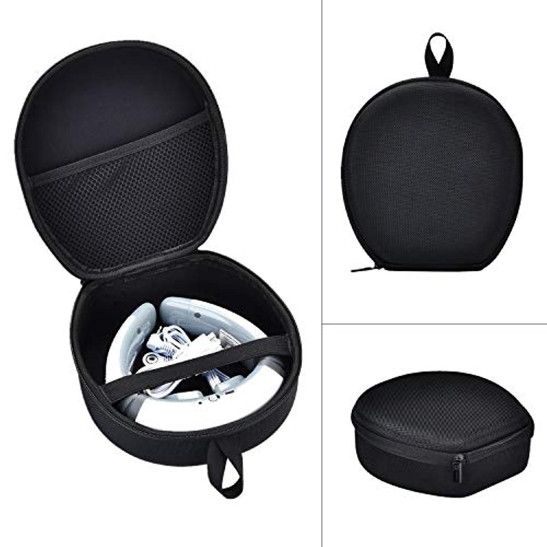 セージ軽減する飾り羽首マッサージャー 収納ケースFor SQIAO ネックマッサージャー マッサージ 保護ボックス (ブラック)