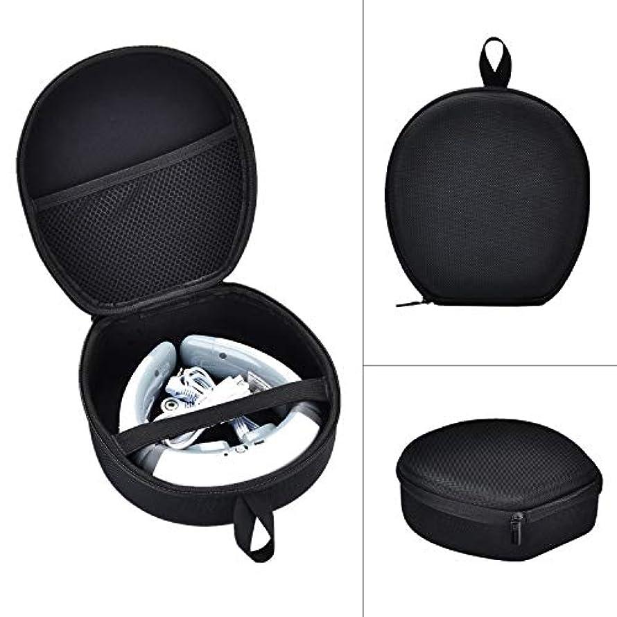慰め内陸鉄道首マッサージャー 収納ケースFor SQIAO ネックマッサージャー マッサージ 保護ボックス (ブラック)
