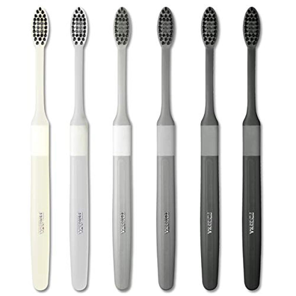 貫通増強するライムFINEFRA歯ブラシ(6本セット)
