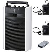 TOA デジタルワイヤレスアンプ・ワイヤレスマイクセット WA-2800×1 WTU-1820×1 WM-1320×2 ダイバシティ