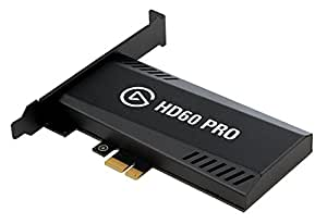 Elgato Game Capture HD60 Pro, stream and record in 1080p60, superior low latency technology, H.264 hardware encoding, PCIe [並行輸入品]