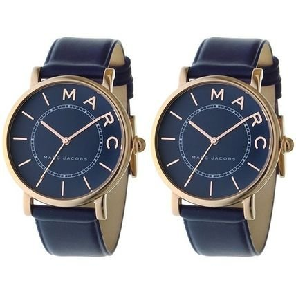 [マークジェイコブス]MARC JACOBS ペアウォッチ ロキシー 36mm ネイビー レザー MJ1534MJ1534 腕時計 [並行輸入品]