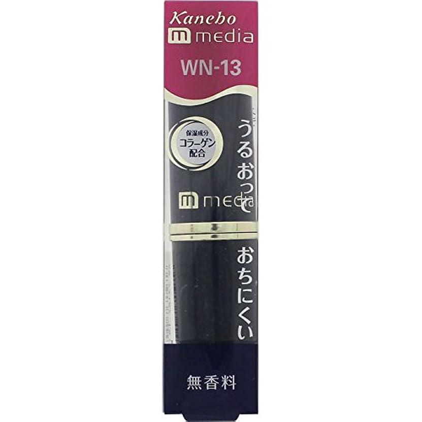 安価な細菌放棄されたカネボウ メディア(media)クリ-ミィラスティングリツプA カラー:WN-13