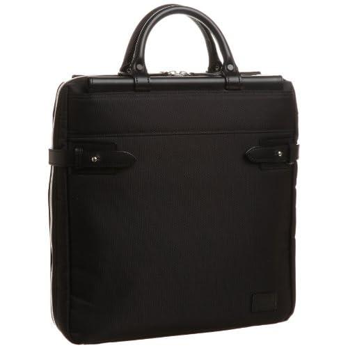 【木和田】天棒ビジネスバッグ縦型S 3WAY本革付属 鞄の聖地兵庫県豊岡市製 5985 01 (ブラック)