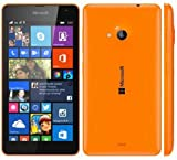 Microsoft Lumia 535 Dual SIM Unlocked GSM Cell Phone Network GSM 850 / 900 / 1800 / 1900 3g Network Hsdpa 900 / 2100 (Orange) [並行輸入品]