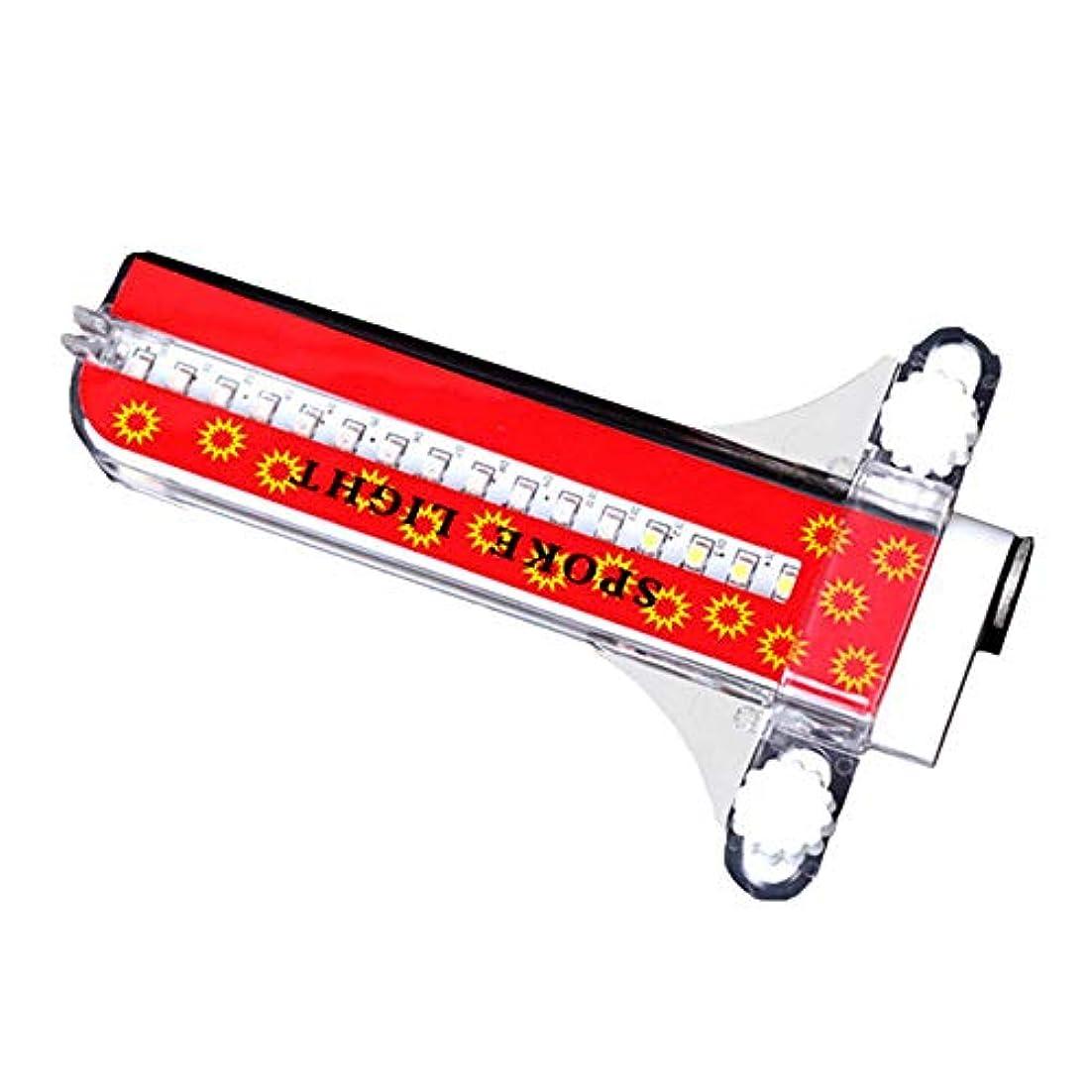 タービン病者負荷発信スタイルの楽しみ色ライト自転車サイクリングホイールスポークライト32 LED 32標準防水