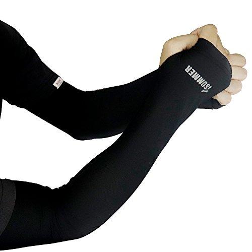 LS-EPOCH UV 腕カバー アームカバー 超伸縮両腕用 アームスリーブ 速乾生地 冷感 通気性 高弾性UV