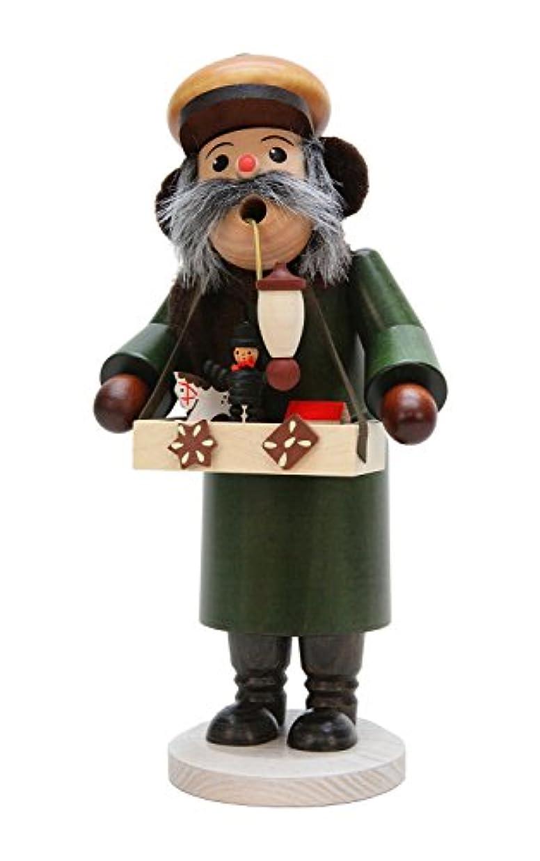 退屈させる血まみれのパパAlexander Taron 35-274 Christian Ulbricht Incense Burner - Toy Merchant with Many Small Toys