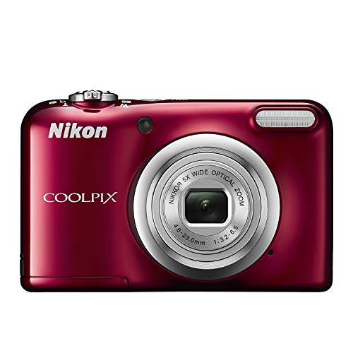 Nikon デジタルカメラ COOLPIX A10 レッド ...