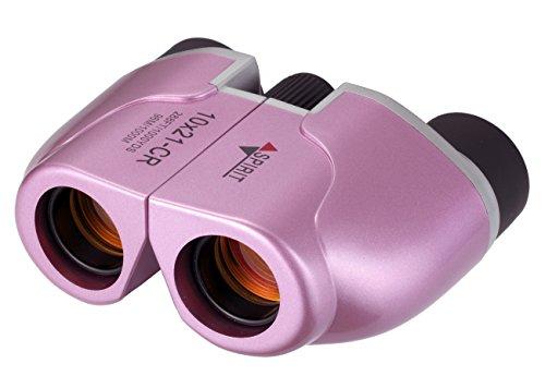 NASHICA 双眼鏡 SPIRIT 10×21 CR-IR-P ポロプリズム式 10倍 21口径 ピンク 502186