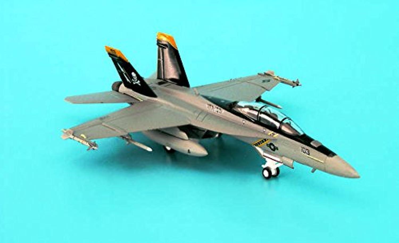 ヘルパ ホーガン 1/200 F/A-18F アメリカ海軍 VFA-103 ジョーリーロジャース 完成品