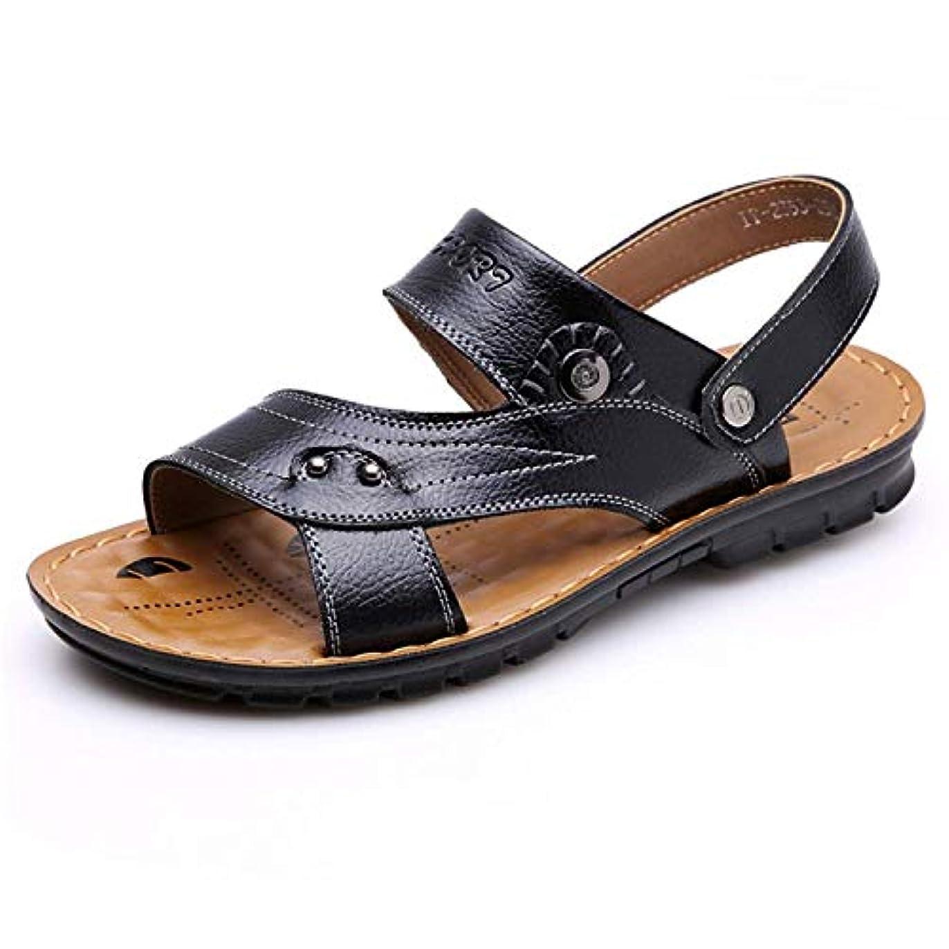 ウール手入れ柔和メンズ サンダル 蒸れない 大きなサイズ パンチング オフィス オシャレ レザー かっこいい ビジネス 通気性 カジュアル 軽量 滑り止め 歩きやすい 柔らかい ウィングチップ 快適 コンフォート 紳士靴