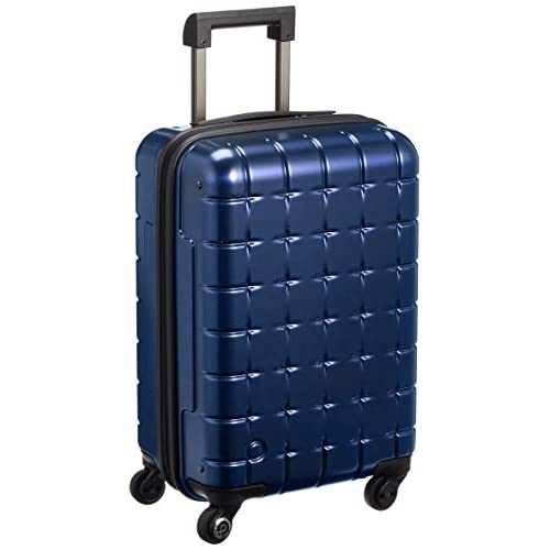 [プロテカ] ProtecA 日本製スーツケース 360(サンロクマル)メタリック 32L 機内持込みサイズ 02616 03 (ネイビー)