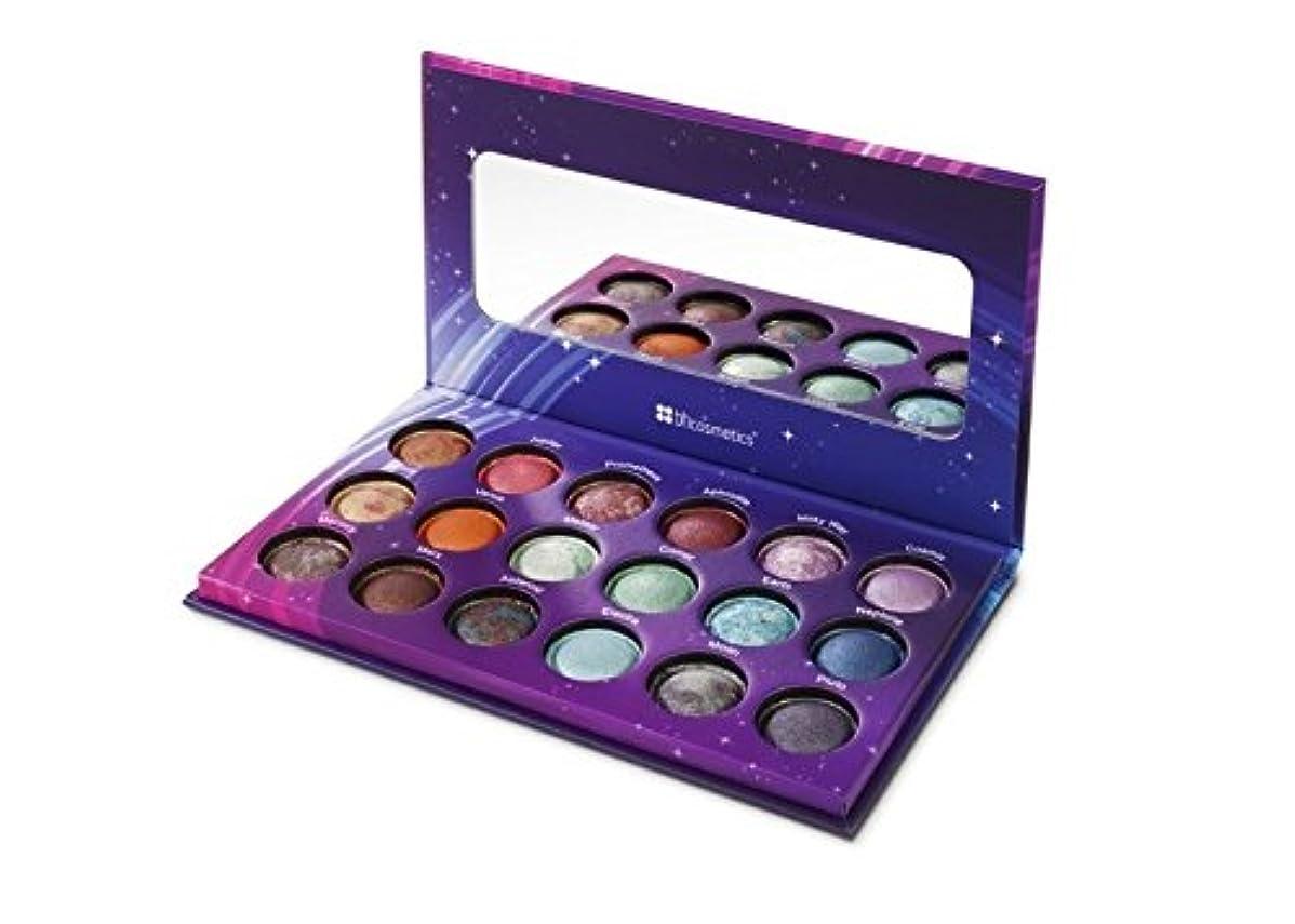 電気マイコン慰めBH Cosmetics Galaxy Chic Baked Eyeshadow Palette 18 Colors (並行輸入品)