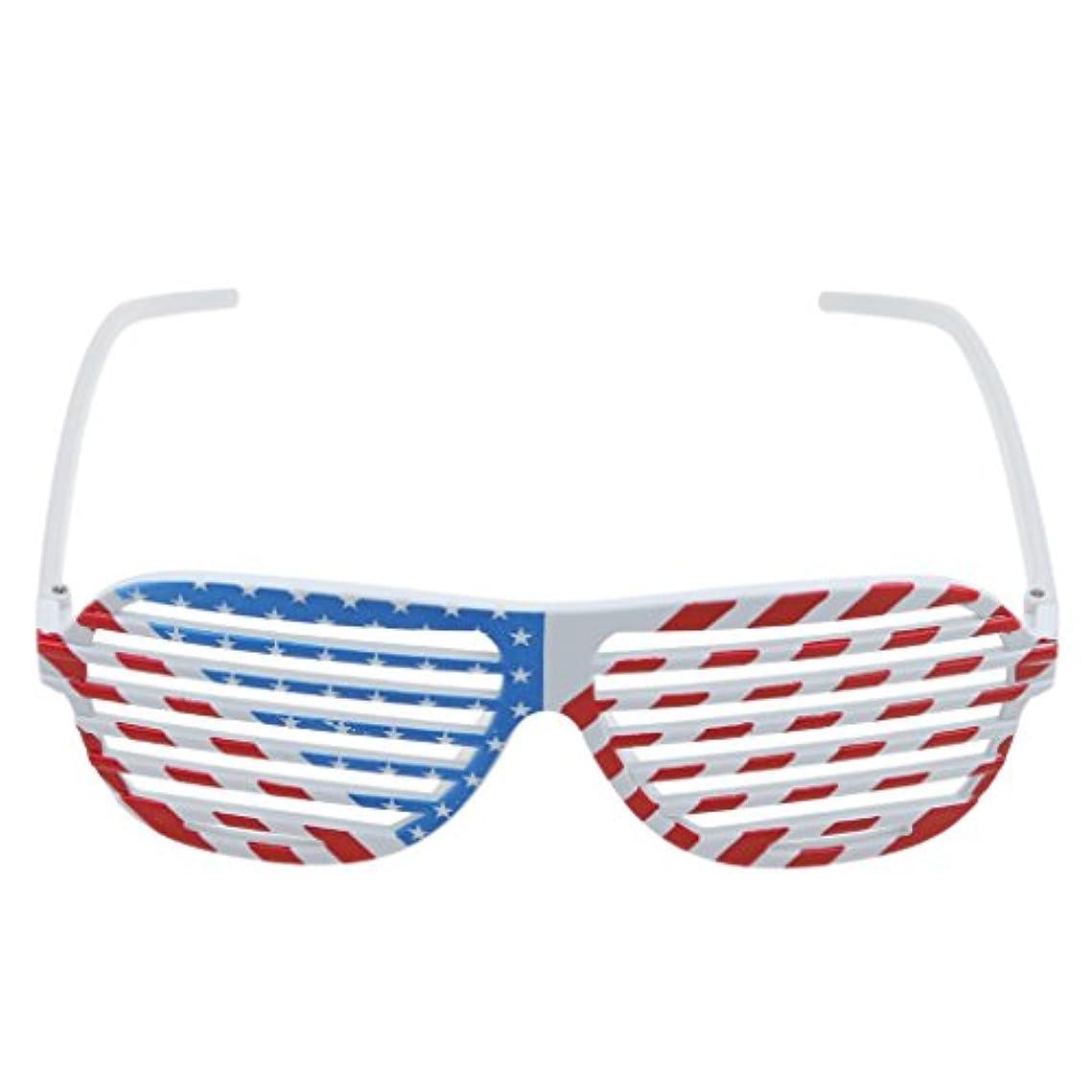 賛美歌余暇ステップDovewill 中空 アメリカ柄 メガネ 衣装アクセサリ 仮装 パーティー