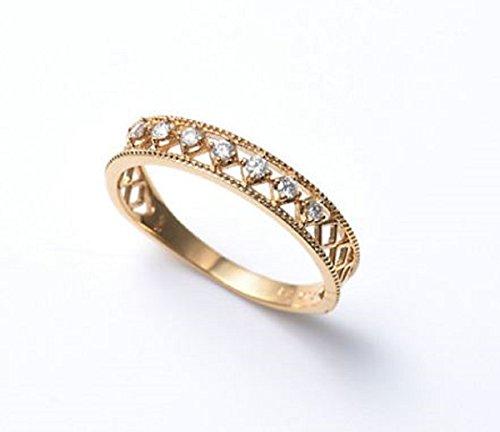 ヴァンドーム青山 アクセサリー 指輪 K18YG ダイヤモンド スノーリング リング (11号)