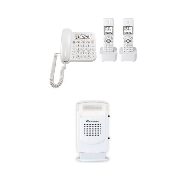 Pioneer デジタルコードレス電話機 子機2...の商品画像