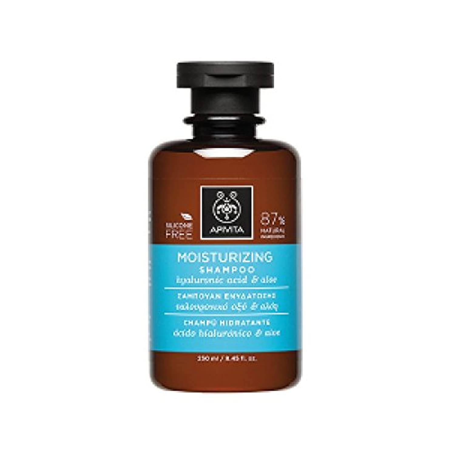 めまい海外以上アピヴィータ Moisturizing Shampoo with Hyaluronic Acid & Aloe (For All Hair Types) 250ml [並行輸入品]