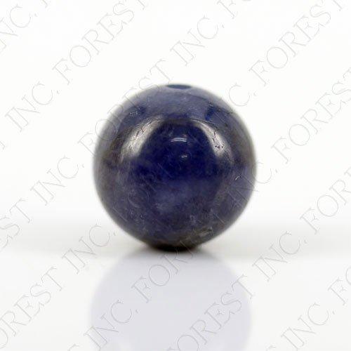 天然石 タンザナイト(ブルーゾイサイト)粒売り1個 約10mm 1個 【1点】