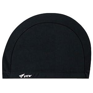 ビュー(VIEW) スイミングキャップ ゆったりサイズ ブラック V154 BK