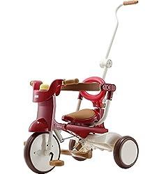 三輪車 iimo tricycle 02 エタニティ・レッド 1040