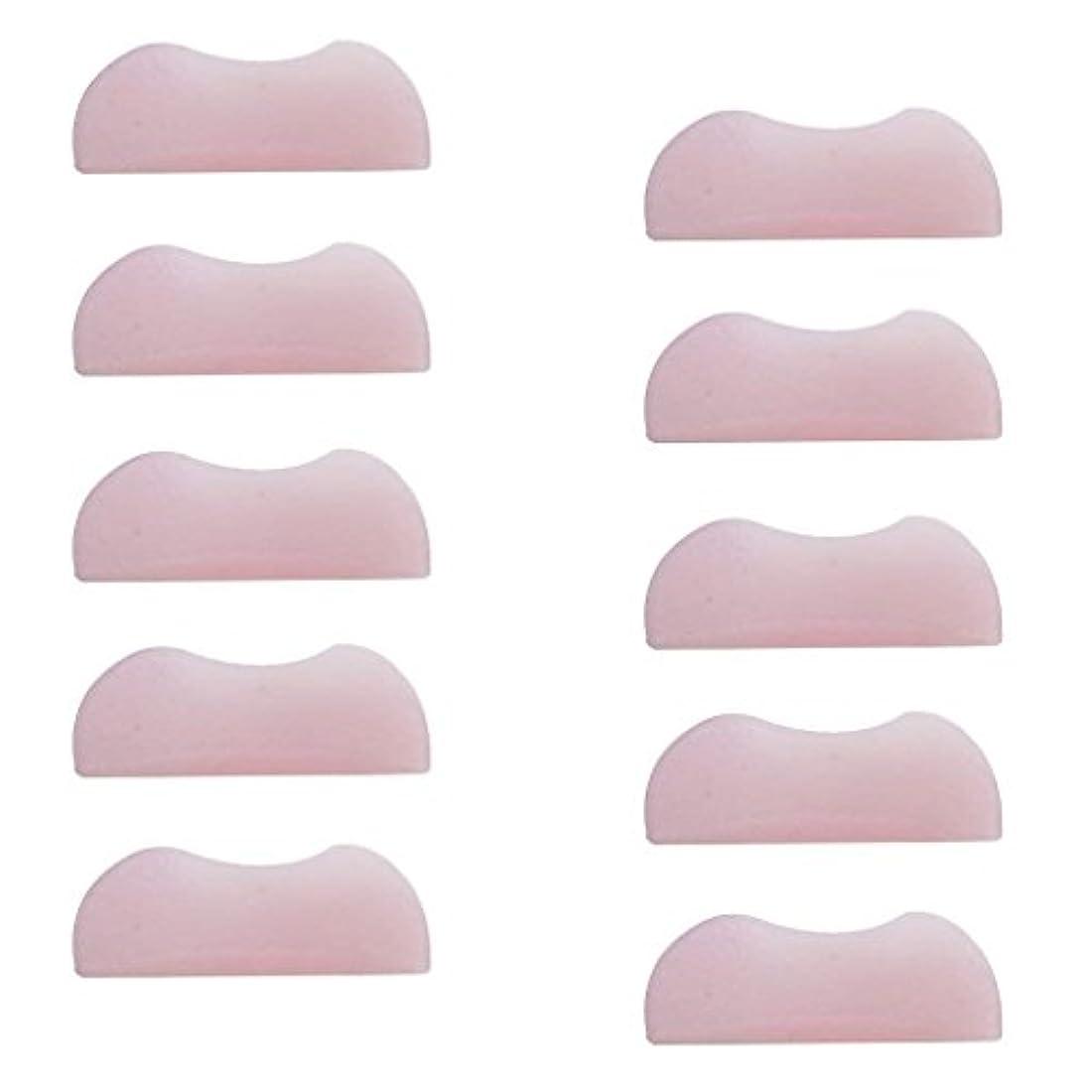 潜在的なファッション雇う5組 シリコンのまつげパッド まつげ美容用のまつげパーツキット