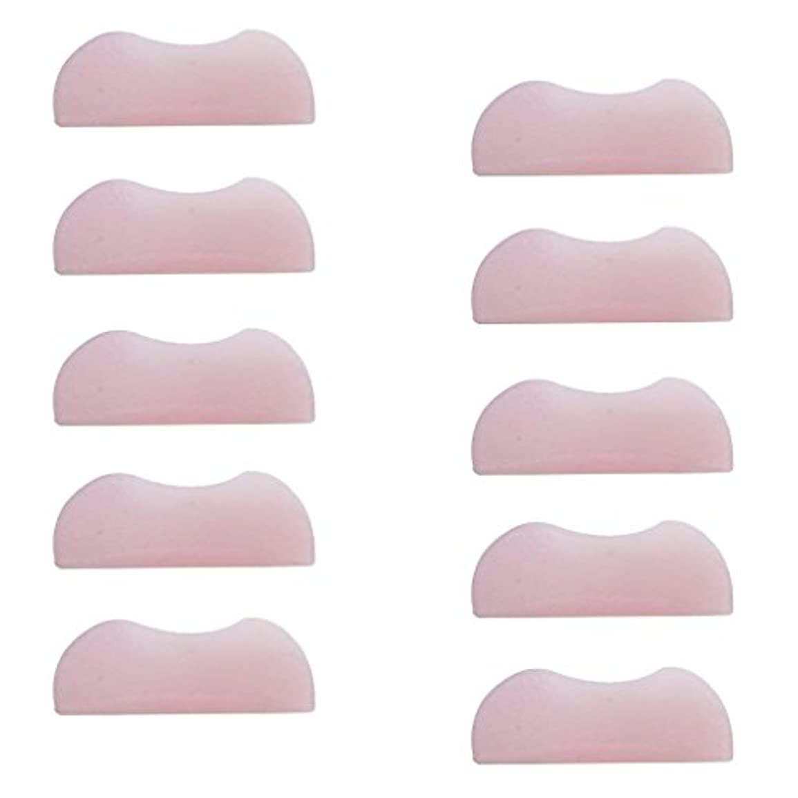 他の場所首尾一貫したシミュレートする5組 シリコンのまつげパッド まつげ美容用のまつげパーツキット
