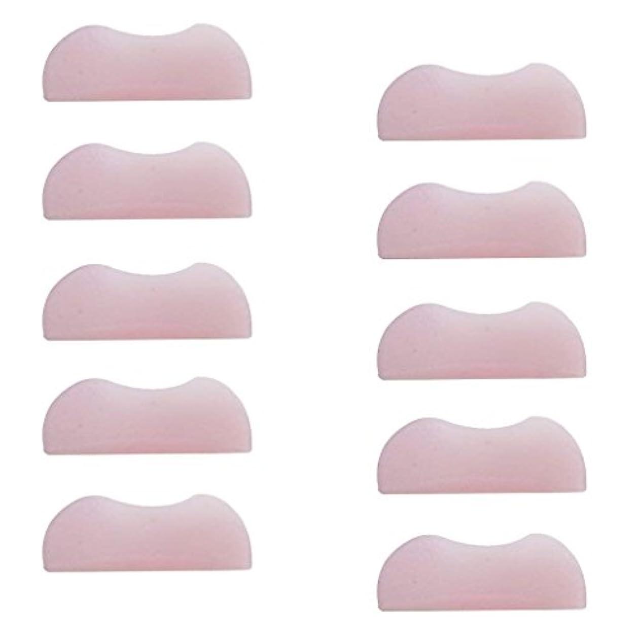 分離教えて意味のある5組 シリコンのまつげパッド まつげ美容用のまつげパーツキット