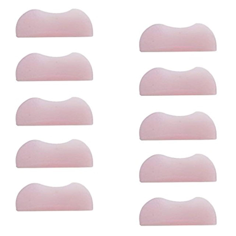 自分の元気な家族5組 シリコンのまつげパッド まつげ美容用のまつげパーツキット