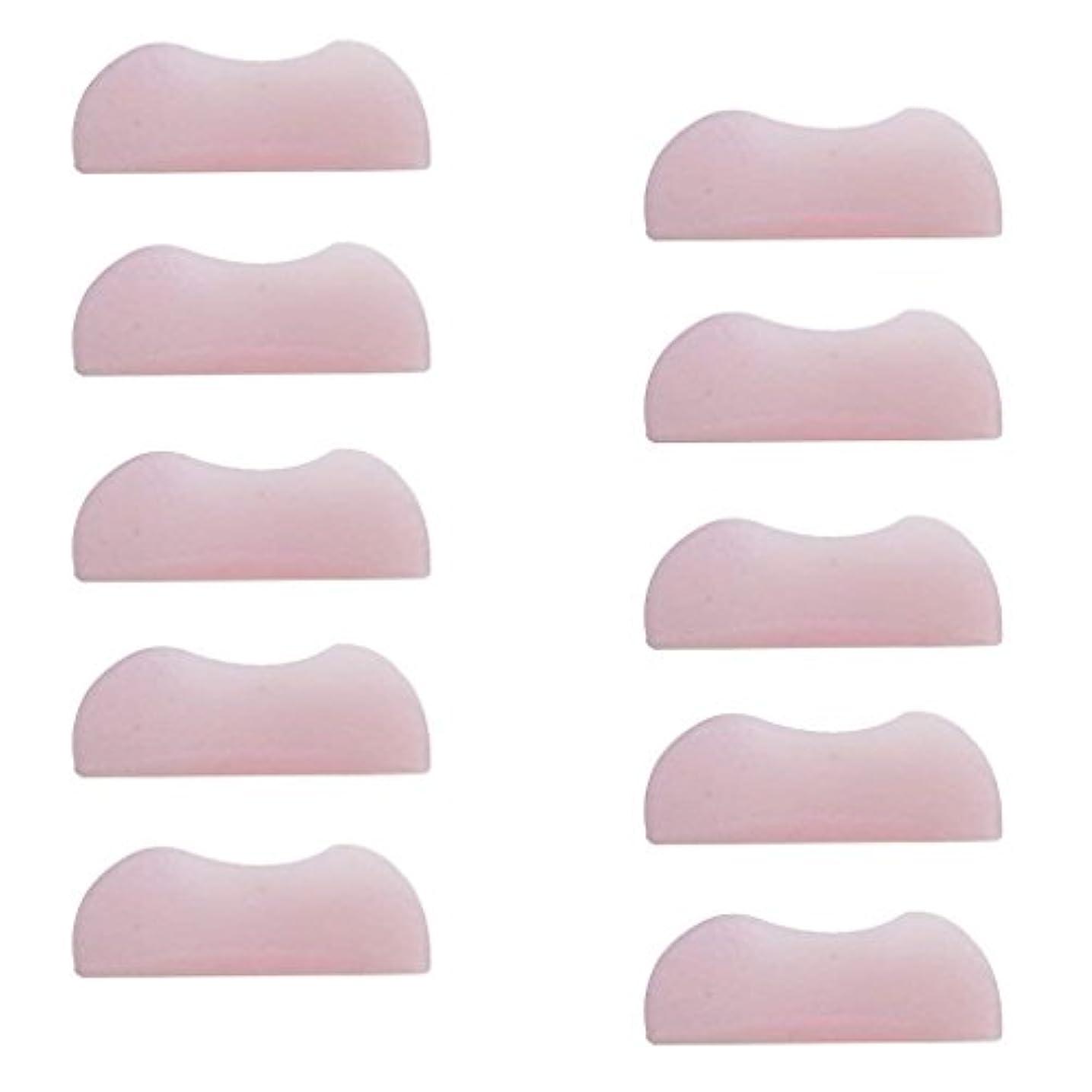 愛情深い自明グレートオーク5組 シリコンのまつげパッド まつげ美容用のまつげパーツキット