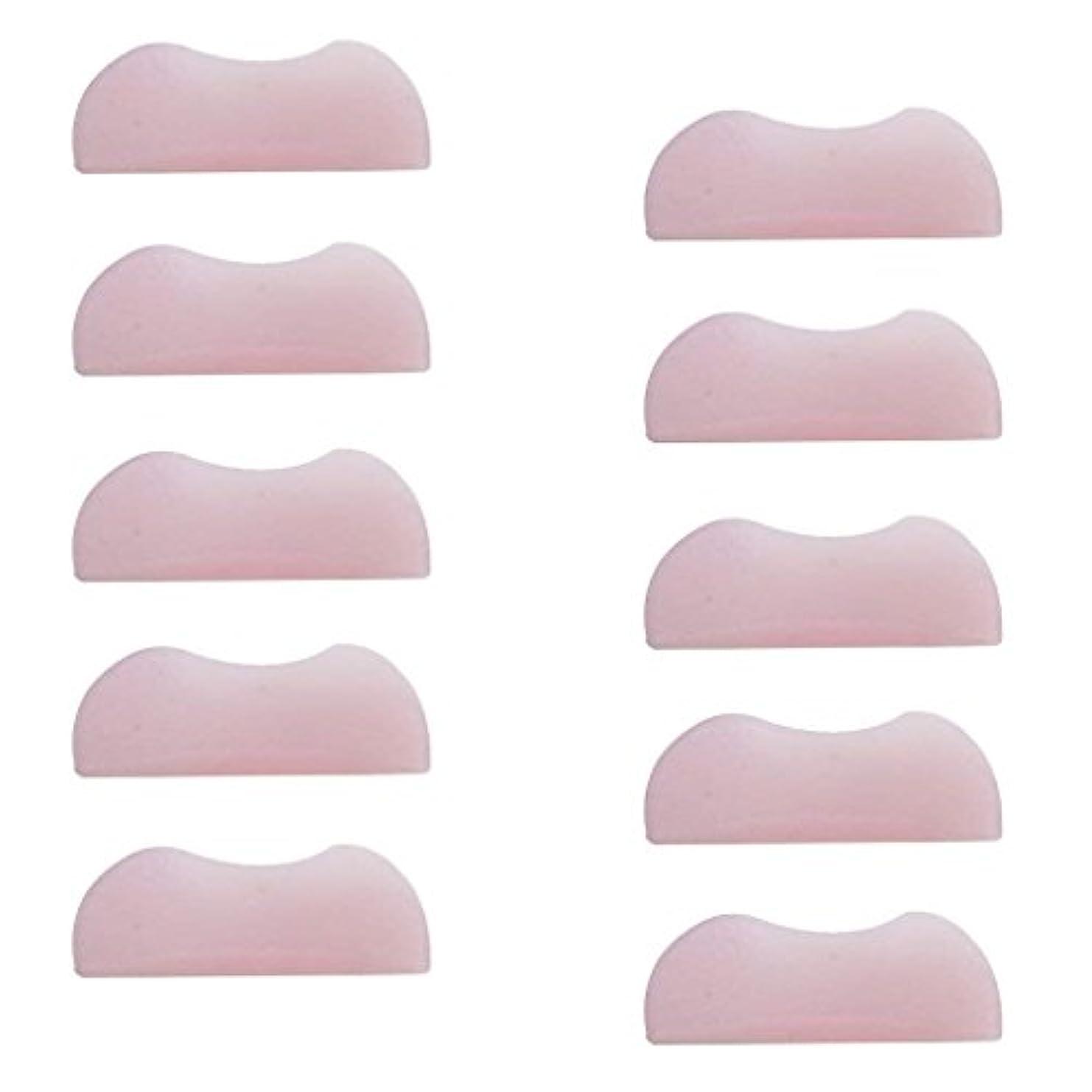 一貫性のない芸術的啓示5組 シリコンのまつげパッド まつげ美容用のまつげパーツキット