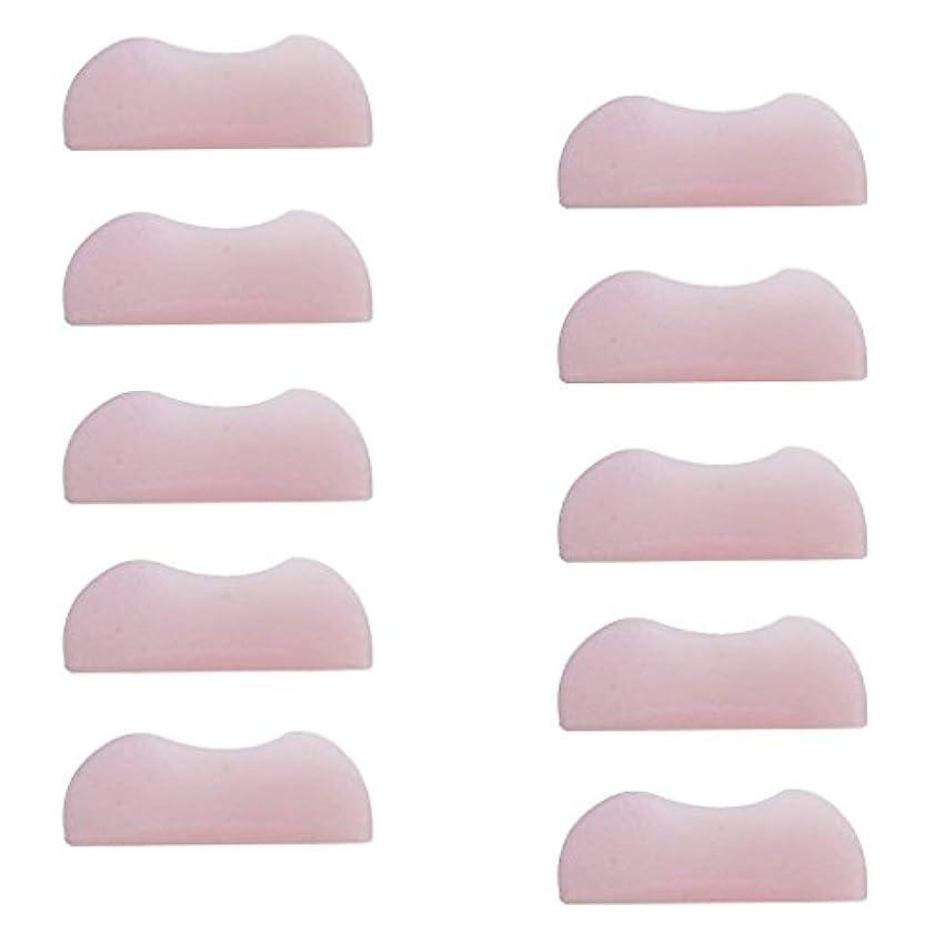 清める木材意識的5組 シリコンのまつげパッド まつげ美容用のまつげパーツキット