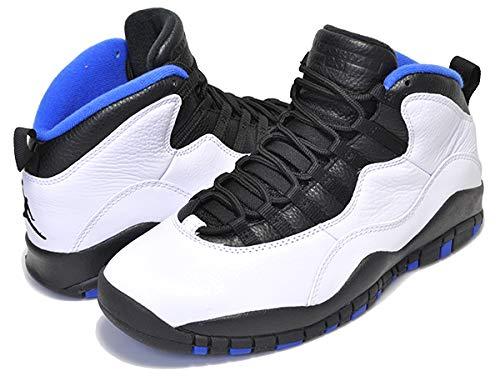 [ナイキ] エアジョーダン 10 AIR JORDAN 10 RETRO ORLANDO white/black-royal blue スニーカー マイケル ジョーダン エア ジョーダン AJ X オーランド 27.5cm(US9h) [並行輸入品]