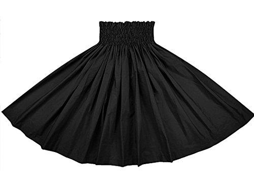 [해외]오더 메이드로 만들어드립니다 (75cm4 개 고무 잠금 마감) 훌라 스커트 다크 블랙의 단색 빠 우스 카토 muji_black-c300 빠 우스 카토 쇼핑 사양/Made to order by order made (75 cm 4 books rubber~ rock finish) Skirt for hula dance black soli...