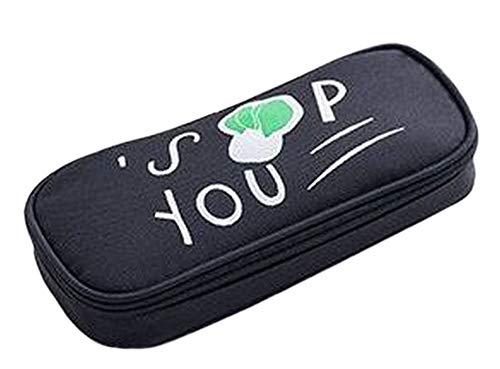 Plus Nao(プラスナオ) 筆箱 ペンケース 筆入れ ふでばこ ペンポーチ 筆記用具 小物入れ ファスナータイプ 野菜 おしゃれ 可愛い かわいい - B【白菜】