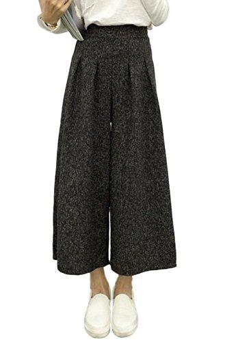 [해외](런 드롭) landrop 가우초 팬츠 여성 버기 와이드 팬츠/(Randrop) landrop Gaucho Pants Ladies Buggy Wide Pants