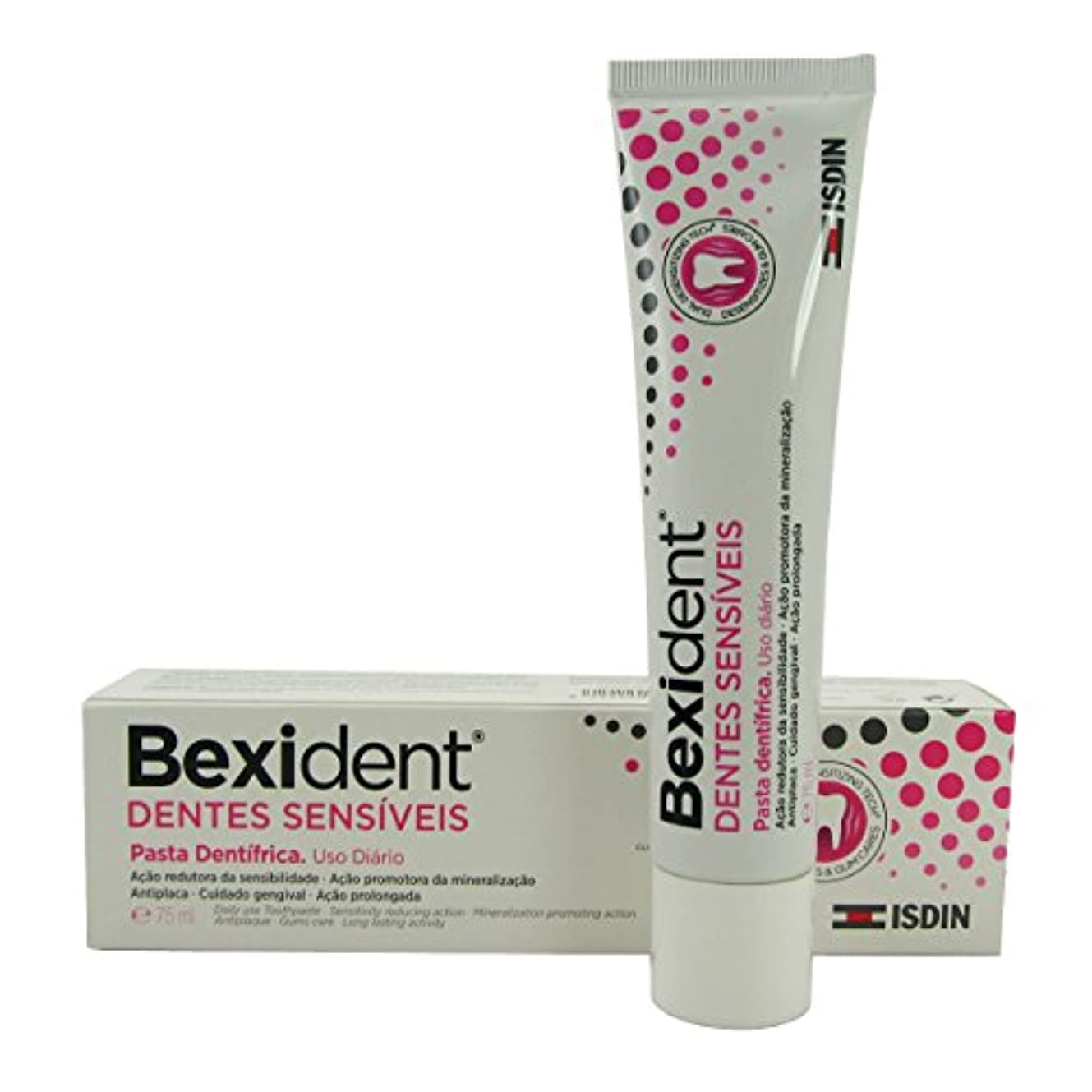 議会寛容な反対Bexident Sensitive Teeth Toothpaste 75ml [並行輸入品]