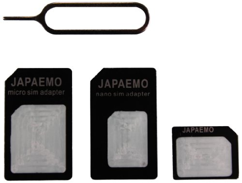 サイズ3種類あるSIMカードはとりあえずnano SIMを買っておくと良いみたい