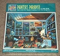 """Painter's Paradise, find over 810 things starting with the letter """"P""""/ by Mike Wilks by Puzzle Within a Puzzle / Great American Puzzle Fac [並行輸入品]"""