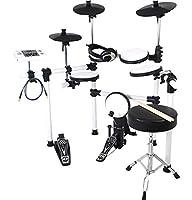 MEDELI メデリ 電子ドラム DD504J-DIY KIT/WH ヘッドフォンセット (ドラムスティック/ドラムイス/オーディオケーブル/ヘッドフォン付き)