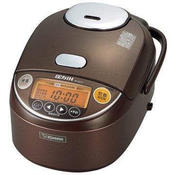 【在庫限り】圧力IH炊飯器 5.5合炊き ブラウン...