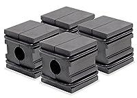 Master Magnetics RA07224BX4 Screwdriver Magnetizer Demagnetizer, Fits .3125 Diameter or Less Tool Shaft, Pocket Size, Brown, Pack of 4 by Master Magnetics