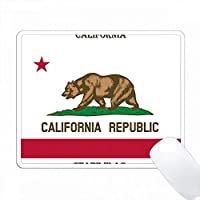カリフォルニア州旗 PC Mouse Pad パソコン マウスパッド