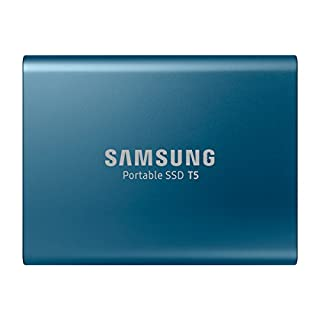 Samsung 外付けSSD 500GB T5シリーズ USB3.1 Gen2対応 ハードウェア暗号化 パスワード保護 V-NAND搭載 MU-PA500B/IT