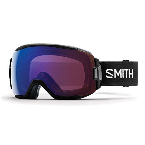 Smith Optics Vice ski- Snowboardbrilleブラック???ChromaPopローズフラッシュPhotochromic NEU