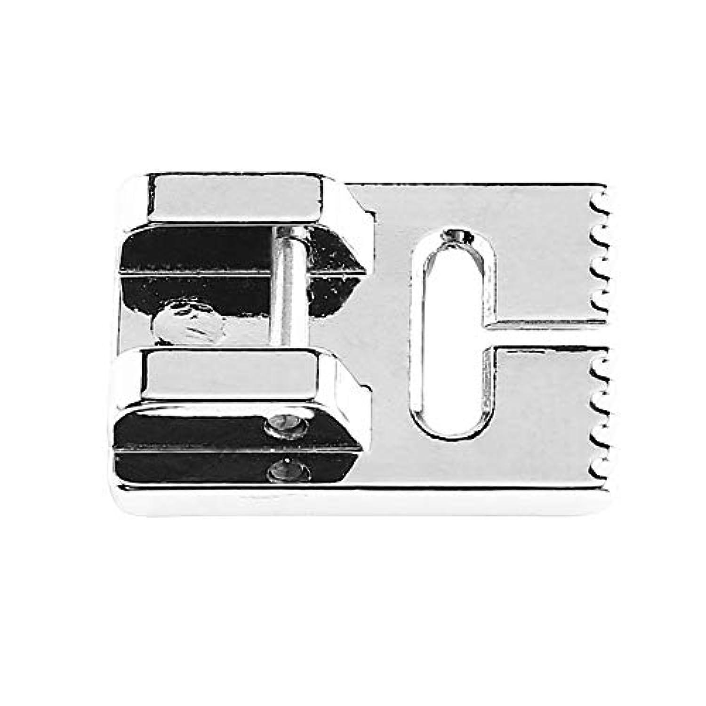 ピンタック押え足、家庭用電気多機能ミシンPintuck押え足9つの溝付き(1)