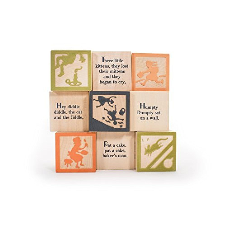 Uncle Goose Nursery Rhyme Blocks - Made in USA [並行輸入品]