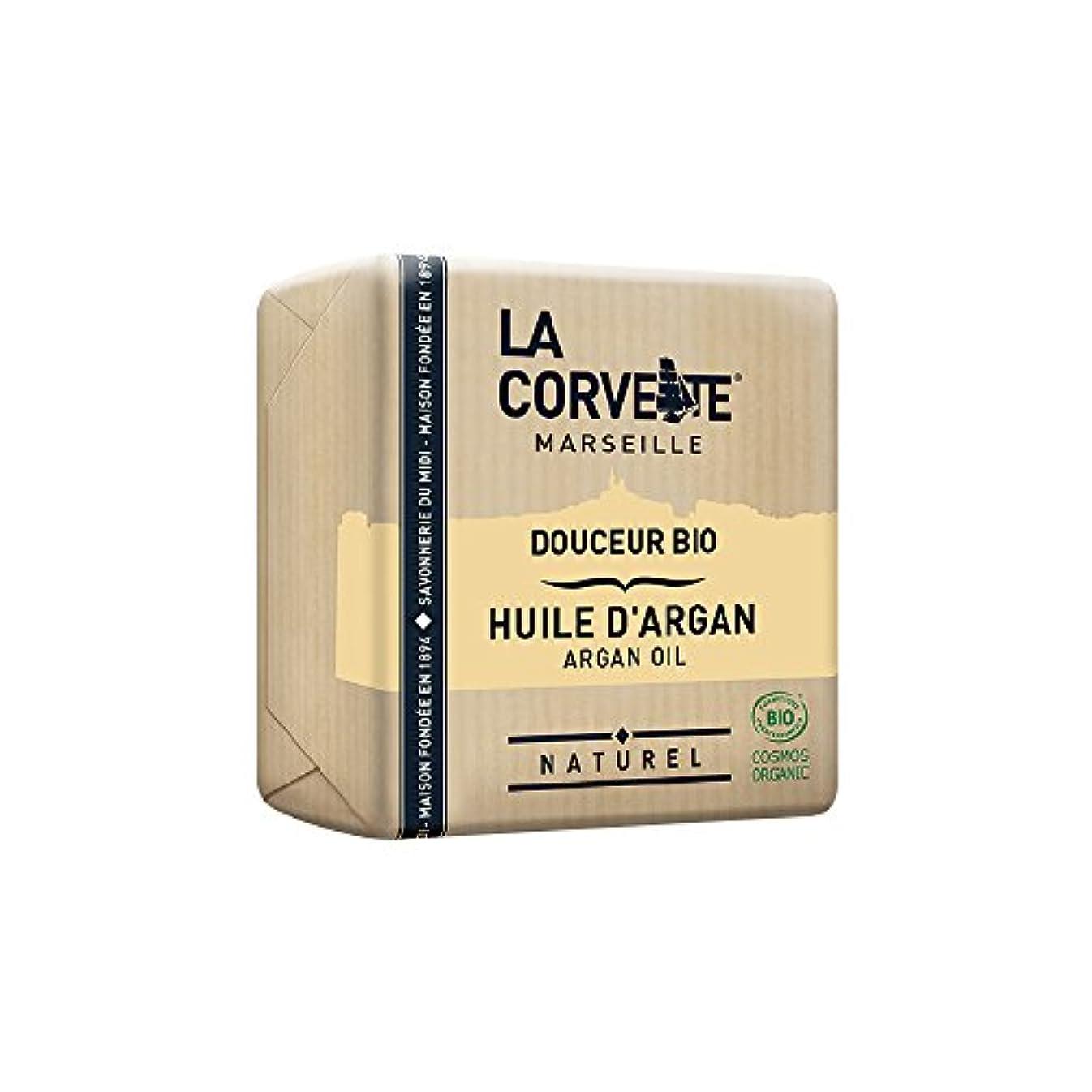 食料品店高揚した店主La Corvette(ラ?コルベット) サボン?ドゥスール?ビオ アルガンオイル 100g