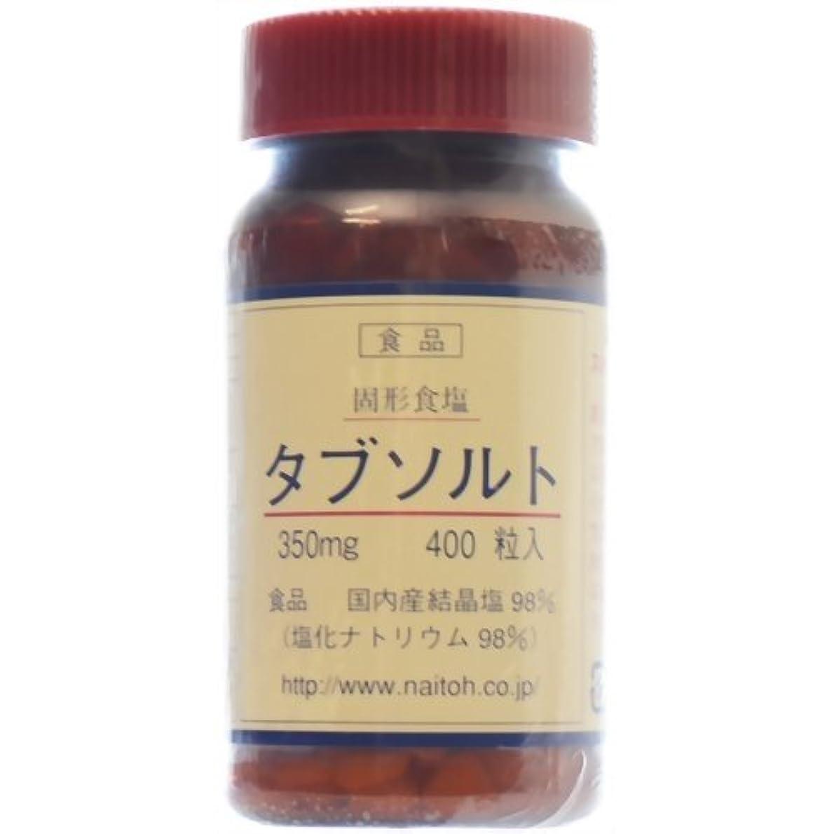 悪意反逆者ふつう内藤商店 固形食塩 タブソルト 400粒